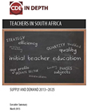 Teachers in South Africa: Supply and Demand 2013-2025 | SABLE Accelerator Network