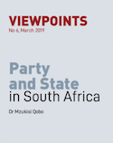 Party and State in South Africa   SABLE Accelerator Network