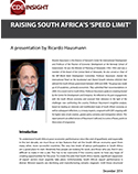 Raising South Africa's Speed Limit: A Presentation by Ricardo Hausmann | SABLE Accelerator Network